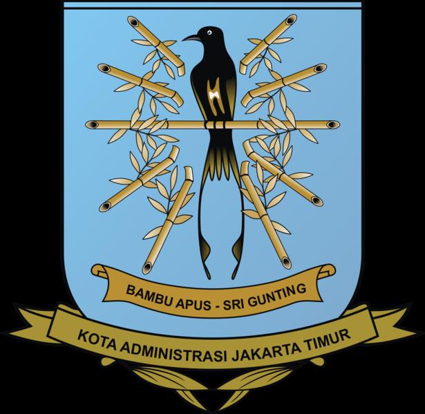 615px-Lambang_Kota_Jakarta_Timur